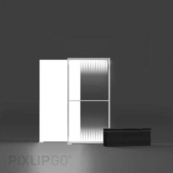 PIXLIP GO | Lightbox 100 cm x 200 cm indoor | beidseitig