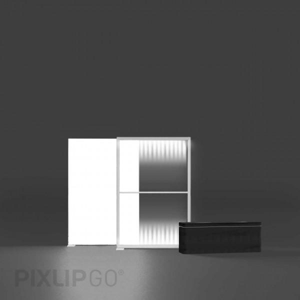 PIXLIP GO   Lightbox 100 cm x 150 cm indoor   einseitig